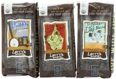 Larry's Beans Coffee Smooth Flavor Whole Bean Variety Pack, 3-count by Larry's Beans, http://www.amazon.com/dp/B005XIIGLY/ref=cm_sw_r_pi_dp_jjtdsb0Y6QDEN