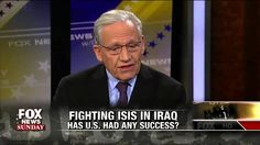 """Bob Woodward says the world is in """"a mess"""" in the fight against the Islamic State, or ISIS, and that President Obama must """"come up with something."""""""