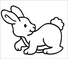 rabbit coloring pages for kids   bunnies coloring pages, bunny ...