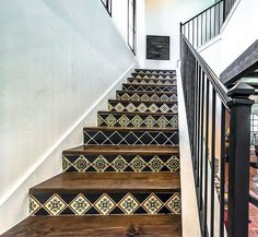 Stair tile. Bringing Talavera tile into the home is like holding a piece of Spanish history. This Mexican tile dates back to the 1500s, when it was popularly used for pottery. Today, Rustico offers hand painted Talavera ceramic tile in many colors and styles, and it is perfectly suited to myriad locations in the home. You can try it as a kitchen backsplash, install it on your countertops, or use it to tile your shower enclosure. Talavera is also an amazing decorative tile: it looks stunning…