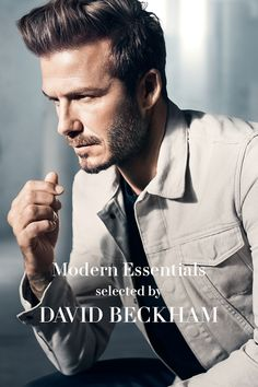 David Beckham handpicked 17 of his fashion favorites in a specially curated collection of Modern Essentials. | H&M Men's Classics