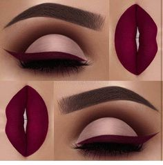 "Obsessed with this color Brows: waterproof creme color in ""sable"" Eyeshadow: Palette Eyeliner and Lips: ""Wine Down"" liquid lipstick Makeup Goals, Makeup Inspo, Makeup Inspiration, Makeup Ideas, Makeup Quiz, Daily Makeup, Makeup Geek, Makeup Tutorials, Skin Makeup"
