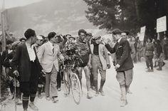 1925 19/7 rit 18 Paris/Vélodrome du Parc des Princes > Ottavio Bottecchia, winner Le Tour 1925