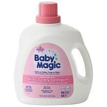 Baby Magic Detergent. . .smells better than Dreft!