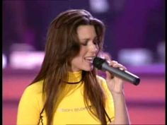 """Shania Twain - That Don't Impress Me Much   I'm not impressed much anymore by words, belongings, materialistic """"things"""", supposedly Intelligence, brains...  Actions are also questioned in my eyes now... """"That don't impress me much""""  I LOVE THIS SONG"""