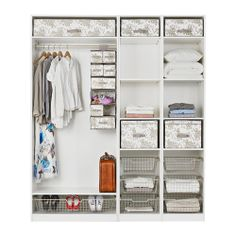 PAX Wardrobe with interior fittings IKEA 10 year guarantee. 200cm wide