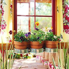 Easy and simple DIY window box planter.