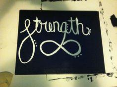DIY canvas #diy #canvas #strength