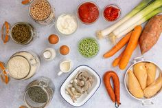 Batch Cooking, Menu, Carrots, Vegetables, Food, Healthy Living, Cooking, Healthy Eating Recipes, Eat Healthy