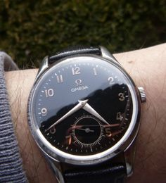 "omegaforums: ""Vintage OMEGA Hand-Wound Dress Watch In Stainless Steel - https://omegaforums.net """