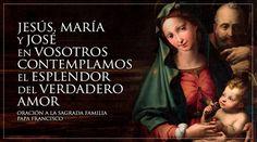 La hermosa oración a la Sagrada Familia con la que el Papa concluye la Amoris Laetitia