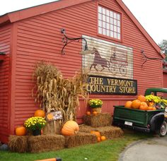 Fall in Vermont - Makes me want to move there .