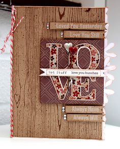 """""""Love"""" card of Wendy"""
