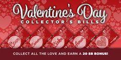 Valentine's Day Collector's Bills! #Swagbucks http://po.st/6Qz5eo