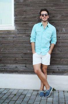 Boy summer style shorts