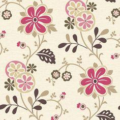 "Found it at Wayfair - Bath Bath Bath Volume IV Darlene Modern Trail 33' x 20.5"" Floral 3D Embossed Wallpaper"