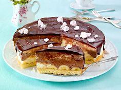 Unser beliebtes Rezept für Banana-Split-Kuchen mit Schokoguss und mehr als 55.000 weitere kostenlose Rezepte auf LECKER.de.