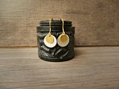 Items similar to Silver and Gold earrings, coin earrings, tiny disc earrings, double coin earrings on Etsy Minimalist Jewelry, Valentine Day Gifts, Gold Earrings, Charms, Coins, Cool Stuff, Trending Outfits, Unique Jewelry, Handmade Gifts