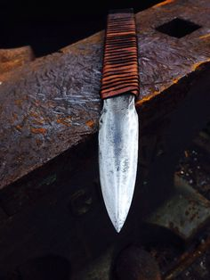 File knife by BlacksmithAndArtist on Etsy