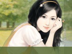 Beautiful Sweet Girls : Beautiful Girls illustrations (Vol. 17 ) - Sweet Charming Faces : Sweet Beauties on Romance Novel Covers 22 Chinese Romance Novels, Romance Novel Covers, 3d Character, Sweet Girls, Chinese Art, Asian Art, Asian Woman, Art Girl, Korean Girl