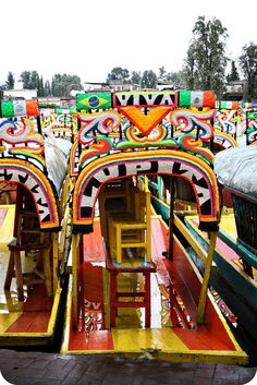 Xochimilco boats, DF Mexico  been there