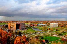 Wageningen Campus (3) Autumn by 芒果人, via Flickr
