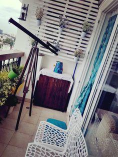 Cozy Balcony Garden