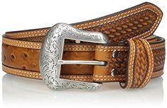 Men's Nocona Top Hand™ Braided Black Western Belt