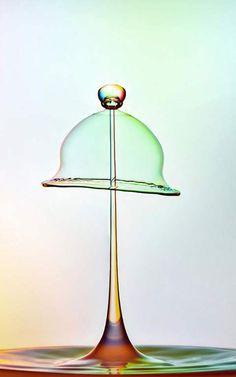 Amazing macro photography of water drops