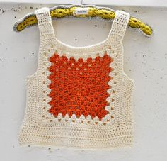 Maize Hutton: A Rib Tickler & Happy Mail! Crochet Woman, Love Crochet, Crochet Granny, Crochet Motif, Diy Crochet, Crochet Crafts, Crochet Projects, Crochet Top, Crochet Tank Tops