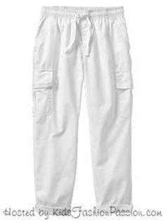 Girl GAP Summer Beach Light Roll Capri Cropped Pants Pull-on Cotton 970736 6-7 R #GapKids #CapriCropped #DressyEveryday