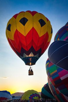 ✮ Hot air balloon at the Prosser Ballon Rally in Prosser, Washington