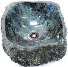 Solid Labradorite | Natural Stone Sinks