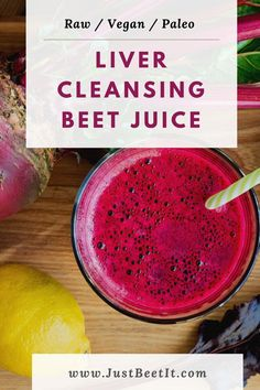 Juice Smoothie, Smoothies, Juice Flavors, Juice Recipes, Liver Cleanse Juice, Healthy Liver, Healthy Foods, Raw Ginger, Fresh Beets