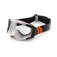 KTM Racing Goggles White