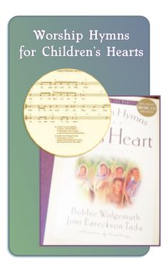 Hymns for a Kids Heart: Childrens Devotional Hymn Book With CD