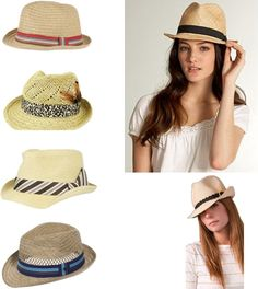 Beach hats! Going to get one of these! :)