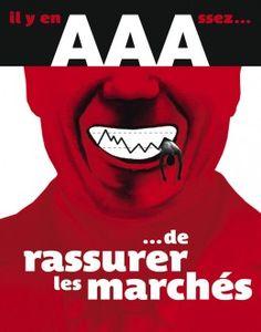 Affiche diffusée dans les manifestations contre la réforme des retraites en 2010