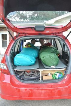 Ultimate Road Trip Car Conversion (Honda Fit)                                                                                                                                                                                 More
