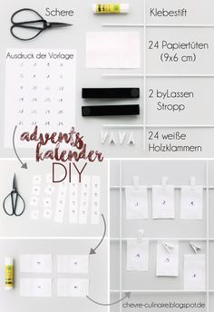 Chèvre Culinaire: [Christmas Gift Guide] Quick Advent Calender DIY