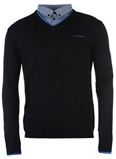 Mens Jumpers, Pierre Cardin, Knitwear, V Neck, Navy, Amazon, Sweaters, Clothes, Fashion