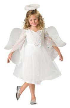 angel costumes for girls trick or treat as girls angel baby kids costume this october - Kids Angel Halloween Costume