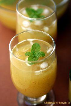 Raw Mango Panna - A cool, refreshing , yummy summer drink