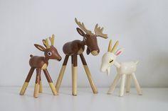 wooden animals (Gunnar Ander)