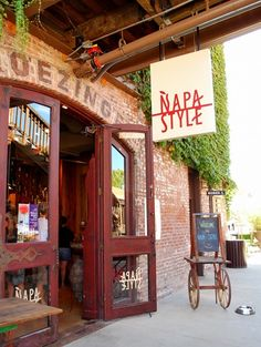 Napa Style: love this store in Yountville California Travel, Northern California, California Wine, Napa Sonoma, Sonoma Valley, Napa Style, Napa Ca, Napa Valley Wine, In Vino Veritas