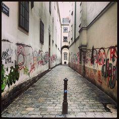 Grafitti Alley, Vienna