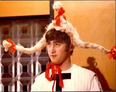 ImageFind images and videos about funny, the beatles and john lennon on We Heart It - the app to get lost in what you love. John Lennon Paul Mccartney, John Lennon Beatles, Great Bands, Cool Bands, We Heart It, Bug Boy, Music Memes, Ringo Starr, Beetlejuice