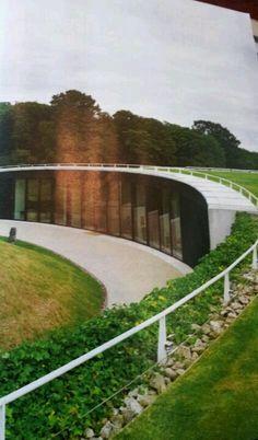 Underground house designed by robin partington