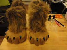 DIY Lion Feet from cheap heels