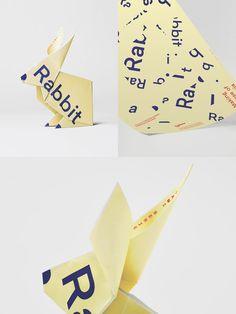 Sydlexia: Making Sense Of Dyslexia by BBDO Dubai, UAE. #posters #campaign #origami